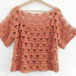 Crochet Fashionable Blouse