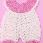 Crochet Very Easy Baby Romper