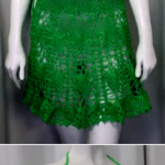 Crochet Fashionable Beach Dress