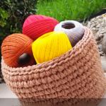 Crochet Basket Step By Step Video Tutorial