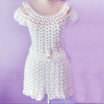 Easy And Fast Crochet Shorts And Blouse