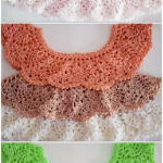 Crochet Fast And Stylish Top For Babies