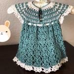 Crochet Lovely Baby Girl Dress