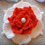Crochet Very Easy Rose Flower
