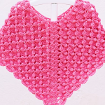 Crochet Fast And Easy Star Stitch Baby Poncho
