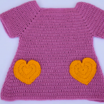 Fast And Easy Baby Dress With Hearts