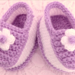 Crochet Lovely Baby Slippers