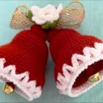 How To Crochet Christmas Bells