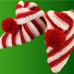 Crochet Easy Booties For Christmas