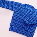 Crochet Baby Pullover