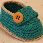 Crochet Charmful baby Shoes