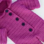 Crochet Lovely Baby Romper
