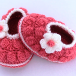 Crochet 3D Easy Baby Shoes