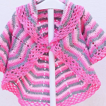 Crochet Fast And Easy Baby Coat
