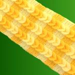 Crochet Scarf With Braids
