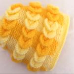 Crochet 3 D Hat With Braids