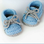 Crochet Cute And Easy Baby Booties