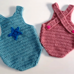 Crochet Lovely And Comfortable Baby Romper