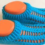 Crochet Lovely Booties For Adults