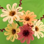 Crochet Decorative Daisy Flowers