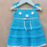 Crochet Baby Girl Dress For Beginners