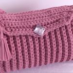 Crochet Easy 3 D Handbag In 30 Minutes