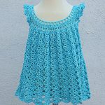 Crochet Fast And Easy Baby Girl Dress For Summer