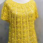 How To Crochet Short Sleeve Blouse For Summer
