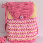Crochet Reversible 3 D Backpack