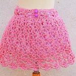 Crochet Fast And Easy Baby Skirt