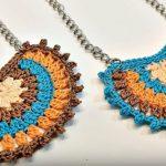 Crochet Boho Style Necklace
