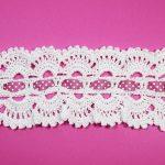 Crochet Headband With Ribbon