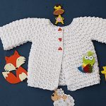 Crochet Lovely Jersey For Babies