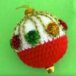 How To Crochet Christmas Ball
