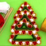 Crochet Decorative Christmas Tree