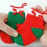 How To Crochet Christmas Socks