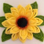 Crochet Fast And Easy Sunflower