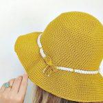 Crochet Sombrero Hat For Women