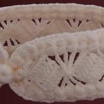 Crochet Headband With 3D Braids