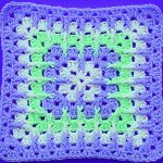 Crochet Granny Square For Blankets