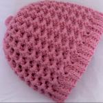 Super Simple Honeycomb Stitch Hat