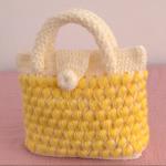 Crochet 3D Stylish Handbag