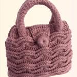 Crochet Braided 3 D Handbag