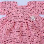 Crochet Amazing Baby Dress