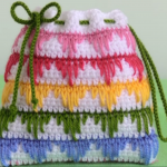 Crochet Lovely Tiny Purse Bag