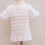 Crochet Amazing Blouse For Summer