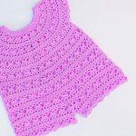 Crochet Baby Romper For Summer