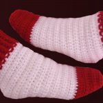 How To Crochet Lovely Slippers In Two Colors