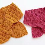Crochet Ribbon Scarf Video Tutorial