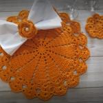 Crochet Festive Doily